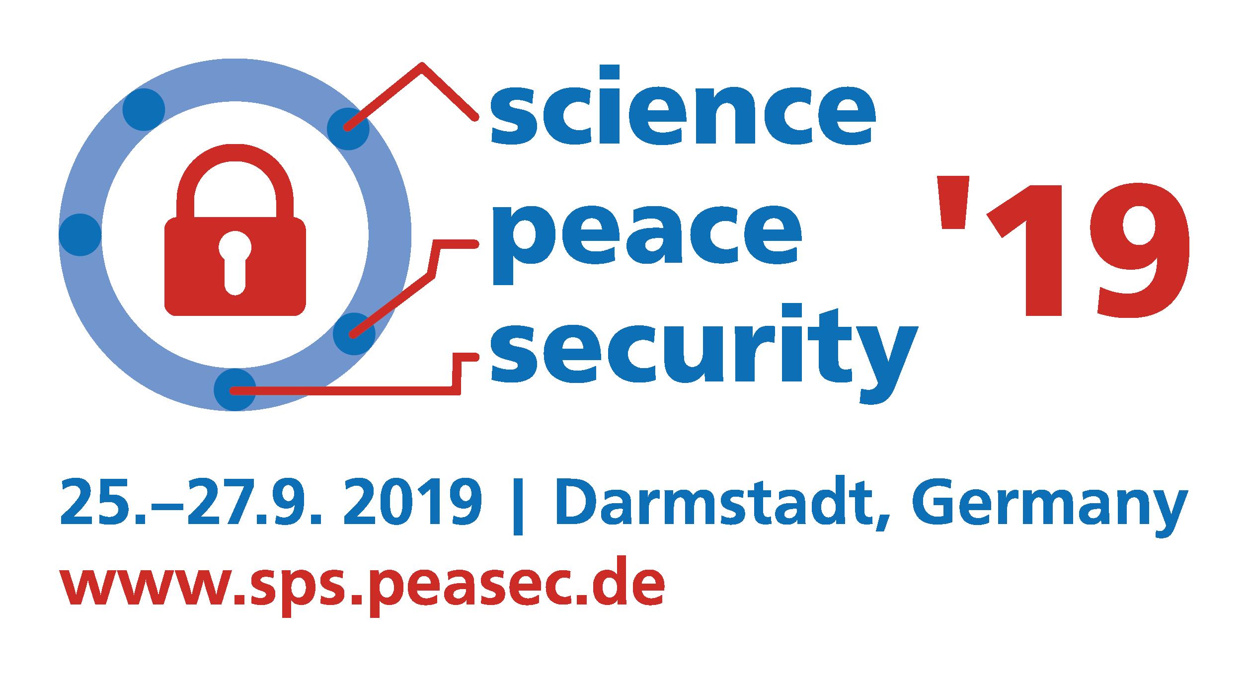 Science Peace Security '19
